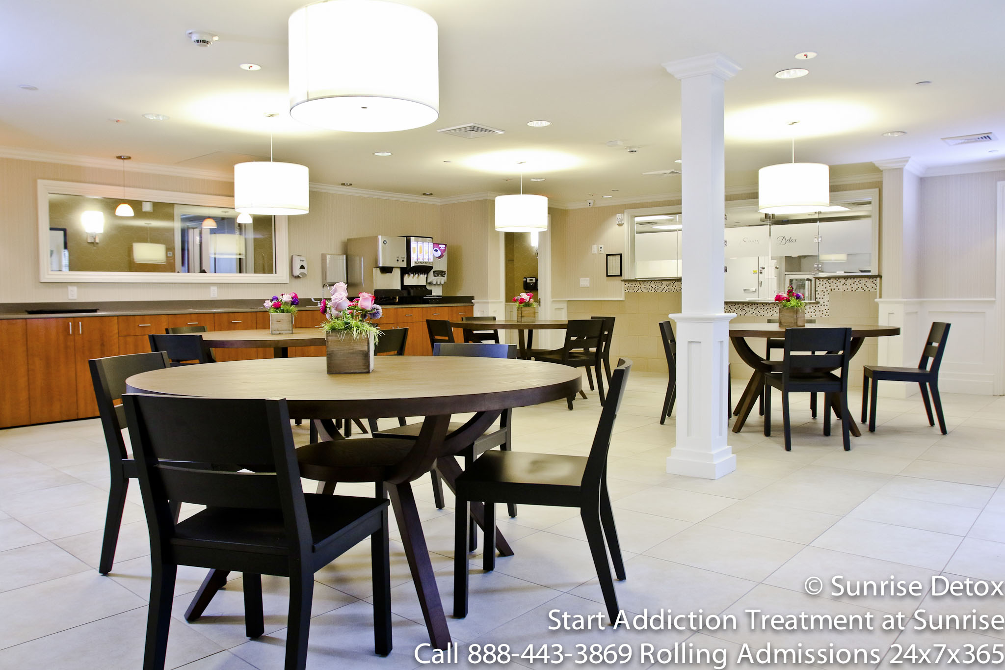 Cherry Hill treatment center interior